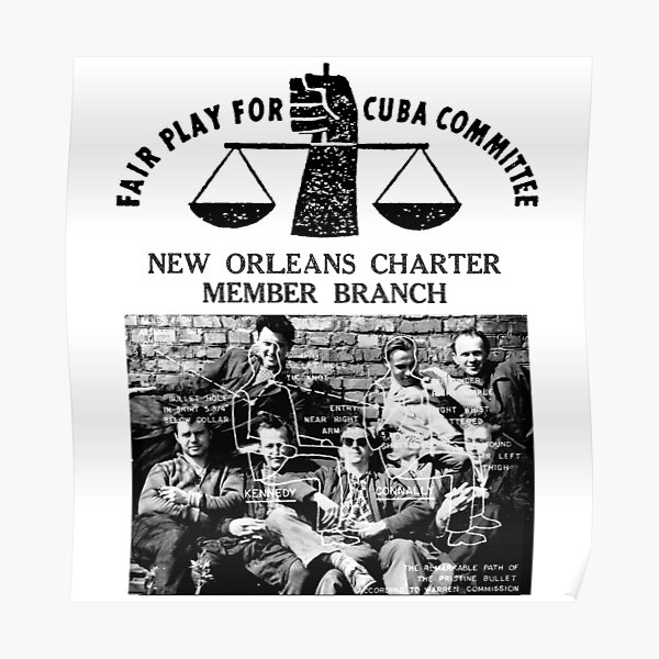 Fair Play For Cuba Committee Poster