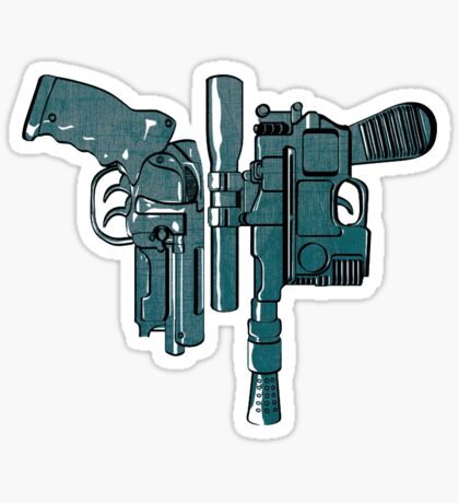 Fords guns. Sticker