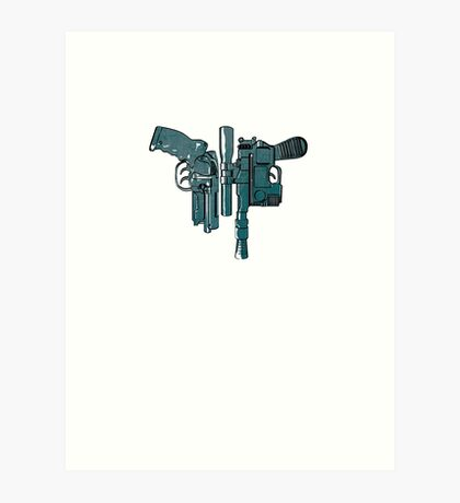Fords guns. Art Print