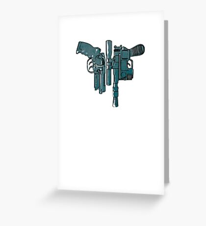 Fords guns. Greeting Card
