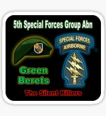 5th Special Forces Group (Abn) Sticker