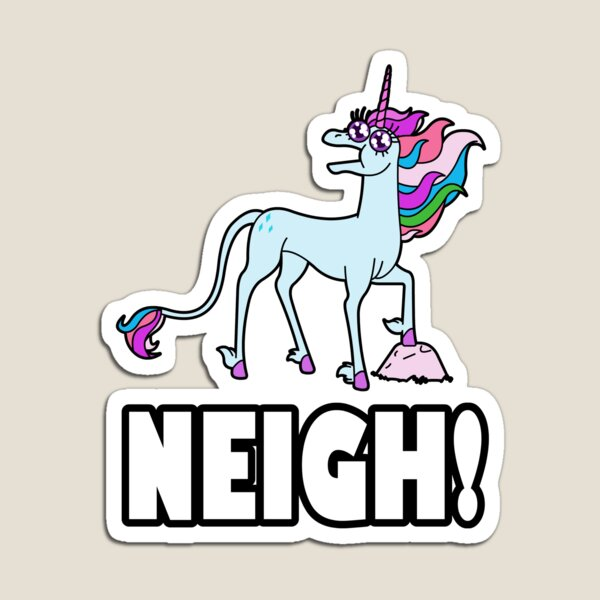 Unicrons say NEIGH! Magnet