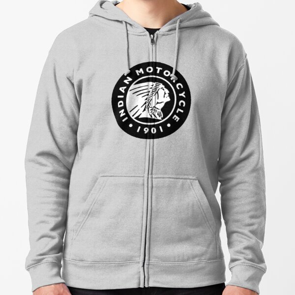 Indian Motorcycles - Clothing & Merchandise Zipped Hoodie