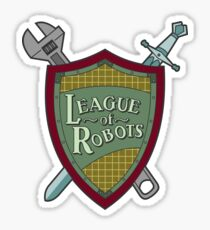 League Of Robots! Sticker