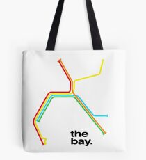 the bay. Tote Bag