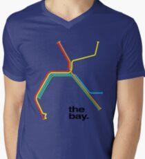 the bay. Men's V-Neck T-Shirt