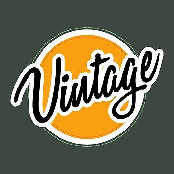 Vintage Badge by blikk