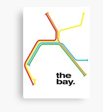 the bay. Canvas Print