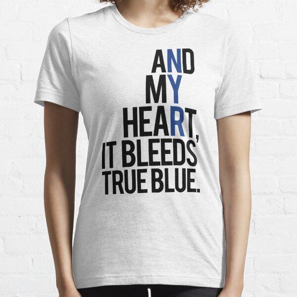 true blue (white) Essential T-Shirt