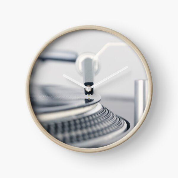 Technics Turntable SL 1200 mk2 Clock