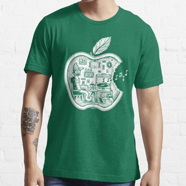The Apple Core (white) Essential T-Shirt