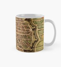 Vintage Map of Antwerp Belgium (1572) Mug