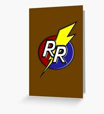 Rescue Rangers! Greeting Card