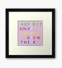 Learn! Framed Print