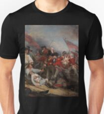 The Battle at Bunker's Hill by John Trumbull Unisex T-Shirt