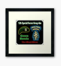 12th Special Forces Group (Abn) Framed Print