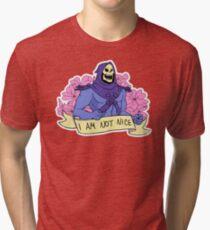 I AM NOT NICE Tri-blend T-Shirt