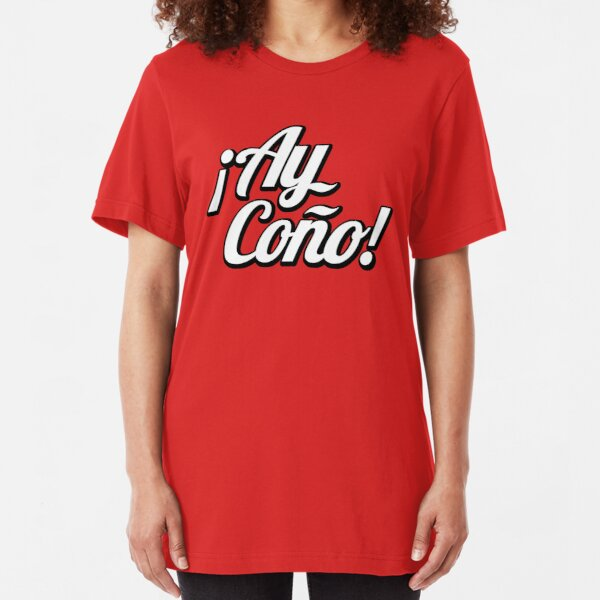 ay coño Slim Fit T-Shirt