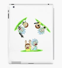 Rick and Morty vs Rick and Morty iPad Case/Skin