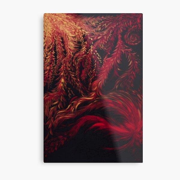 The Womb Metal Print
