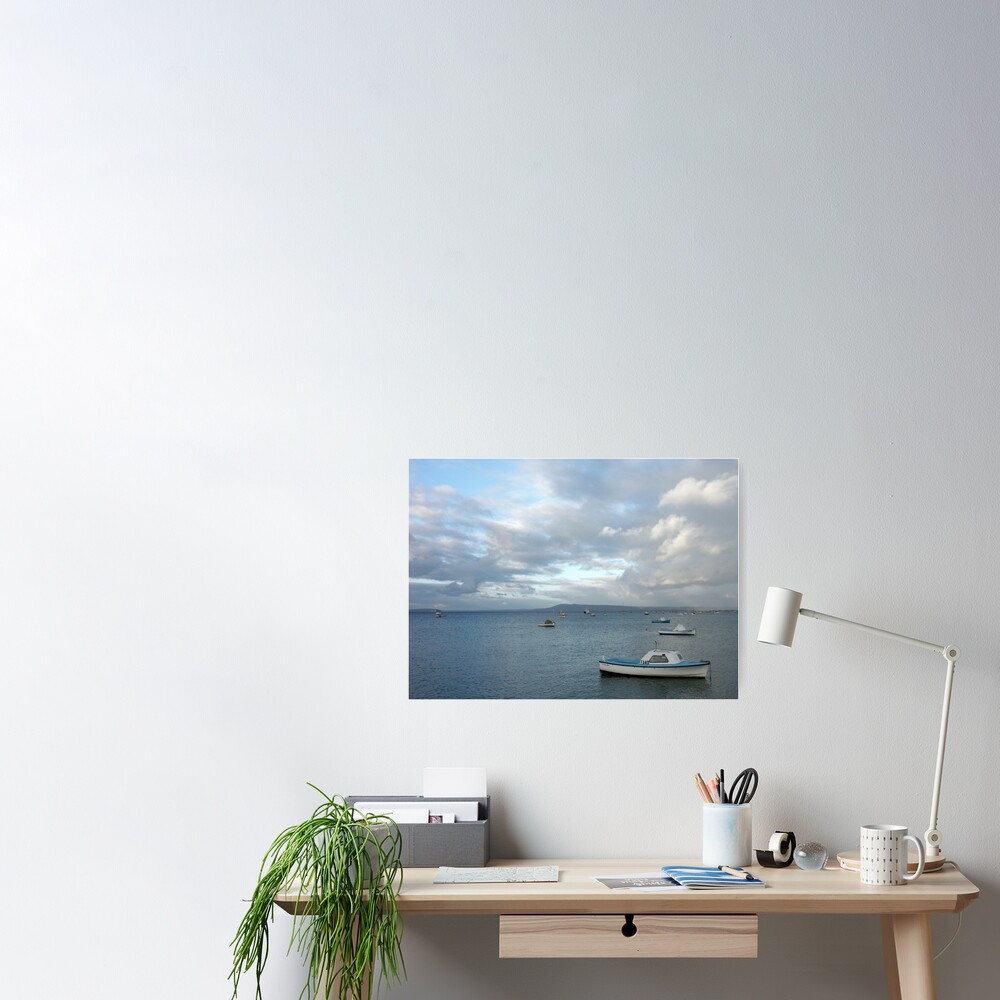 Boats on the Bay, Sorrento Poster