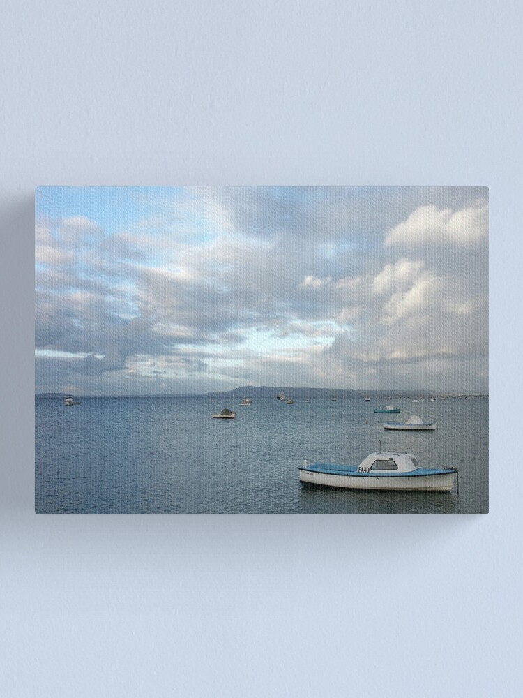 Alternate view of Boats on the Bay, Sorrento Canvas Print