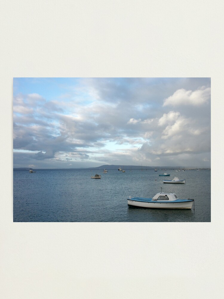 Alternate view of Boats on the Bay, Sorrento Photographic Print