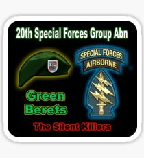 20th Special Forces Group (Abn) Sticker