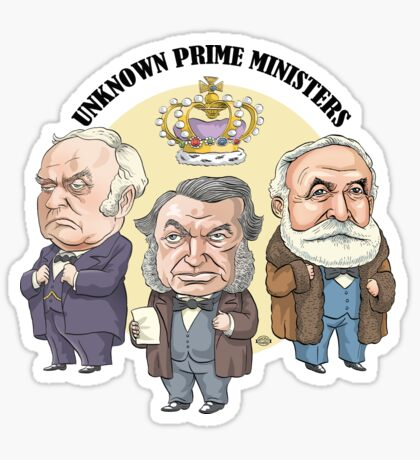 Unknown Prime Ministers Sticker