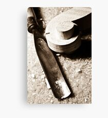 Scroll & Chisel Canvas Print