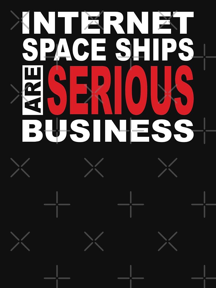 Internet Spaceships are serious business von brainbubbles