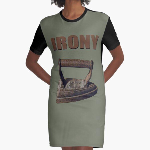 Cast Irony Graphic T-Shirt Dress