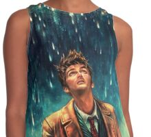 Tenth - Doctor Who David Tennant  Contrast Tank