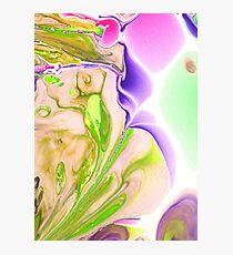 Cosmic Iris Photographic Print