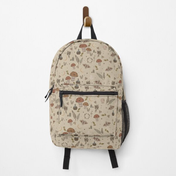witchcraft pattern - creme Backpack