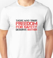 Freedom Government Political Quote Liberty T-Shirt