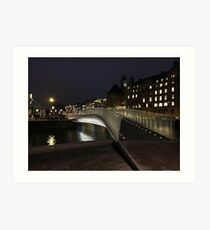 Malmo bridge Art Print