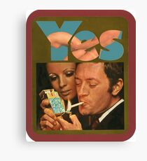 Say Yes to Life Canvas Print