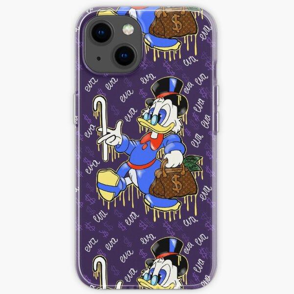 Scrooge Mc Duck and Money | Eva Kiseleva iPhone Soft Case
