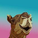 Smiling Camel von Lana Petersen