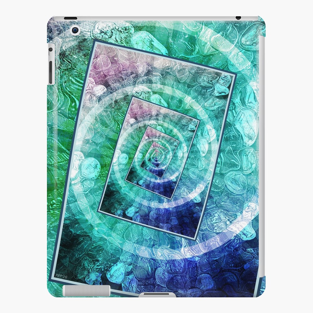 Spinning Nickels Into Infinity iPad Case & Skin