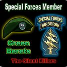 Special Forces Member Assigned to Other Positions in SF by woodywhip