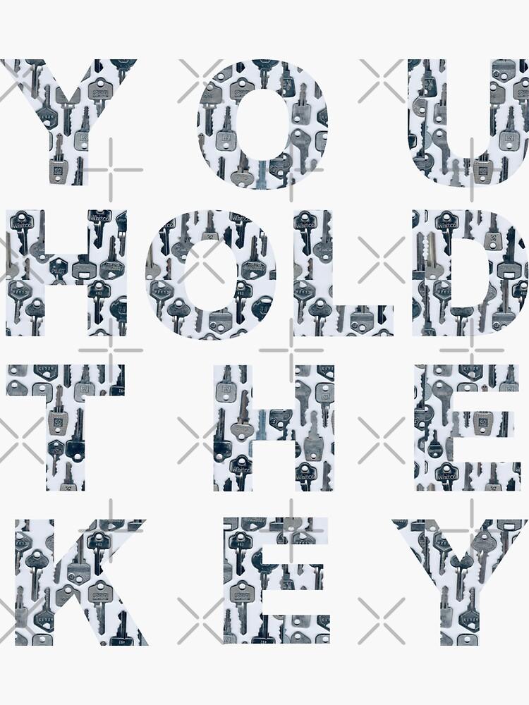 """""""You Hold The Key"""" (I) by Bluey-Boronia"""