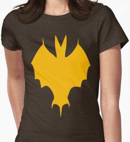 Golden Silhouette Of A Halloween Bat T-Shirt
