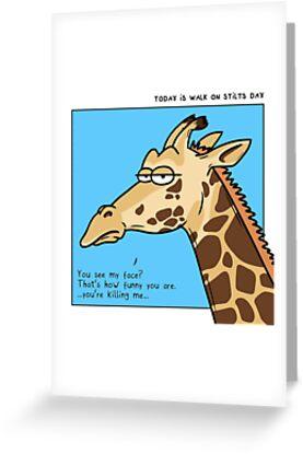 Giraffe is not amused by otterlyalice