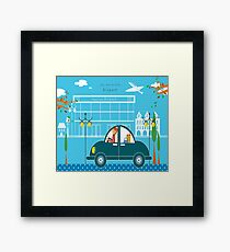Airport 578 Framed Print