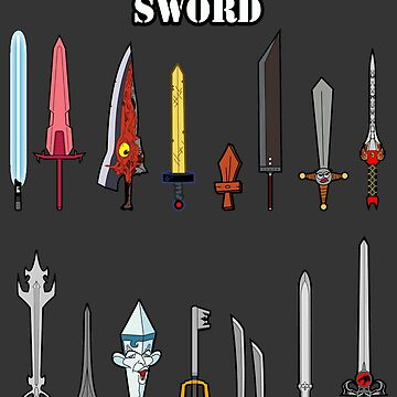 Select Your Sword by robotghost