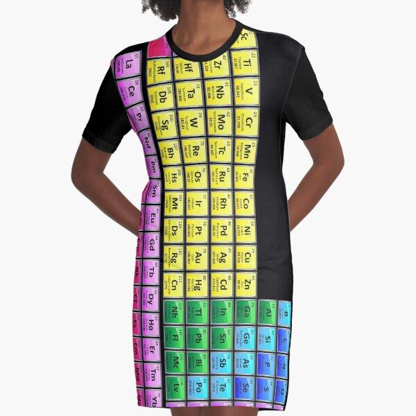 118 Element Periodensystem T-Shirt Kleid