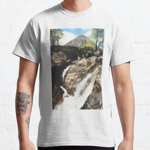 Buachaille Etive Mor digital painting Classic T-Shirt