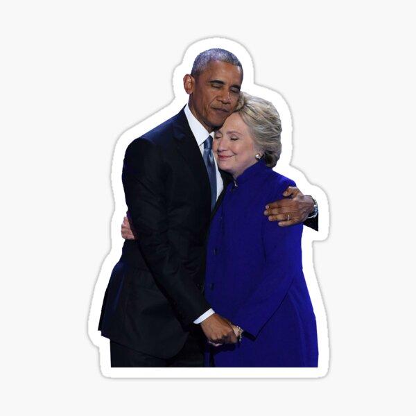Hillary and Obama - DNC 2016 Sticker